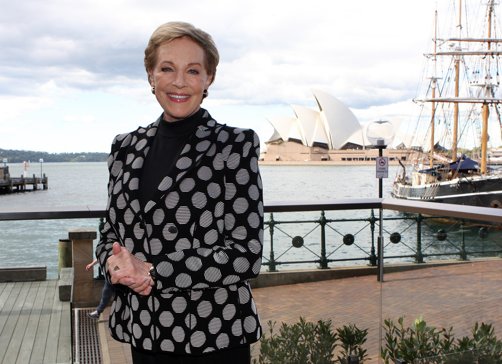 Julie Andrews | An Evening with Julie Andrews media conferen… | Flickr