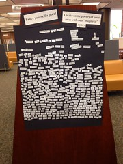 "Being Human ""Magnetic Poetry"""