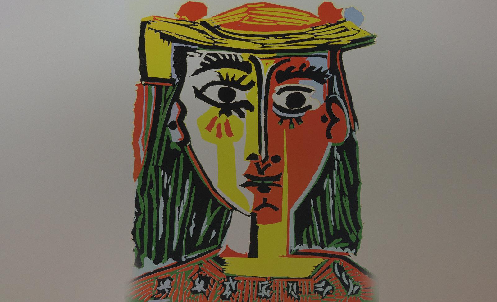 Damas Españolas, visualizaciones de Doménikus Theokópoulos el Greco (1596), enfatizaciones de Pablo Picasso (1966).