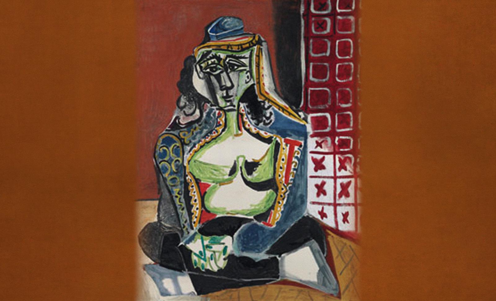Gineceo (Mujeres de Argel) remembranza de Eugéne Delacroix (1834), versiones de metapárafrasis de Pablo Picasso (1955).