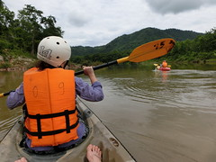 Kayaking am Nam Khan - Luang Prabang