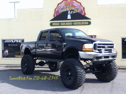 ford monster 4x4 sbk f250 sunsetblvdken sunsetblvdmusic