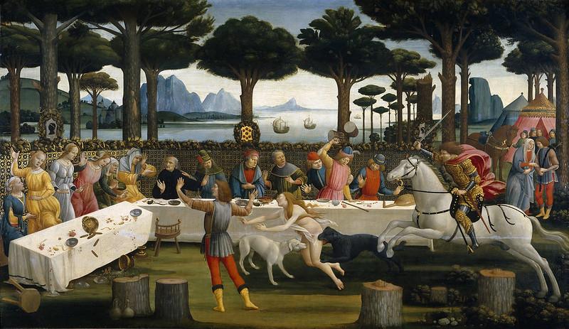 The Story of Nastagio degli Onesti (III)