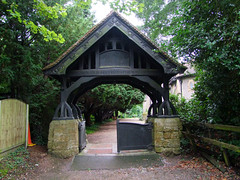 lychgate (Charles Townshend and Eric Gill)