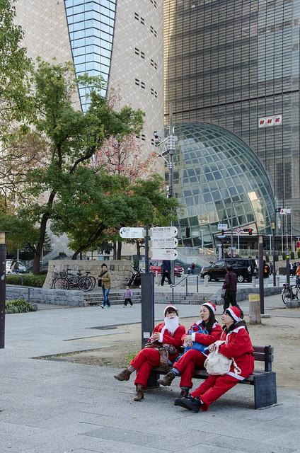 Osaka Great Santa Run 2013