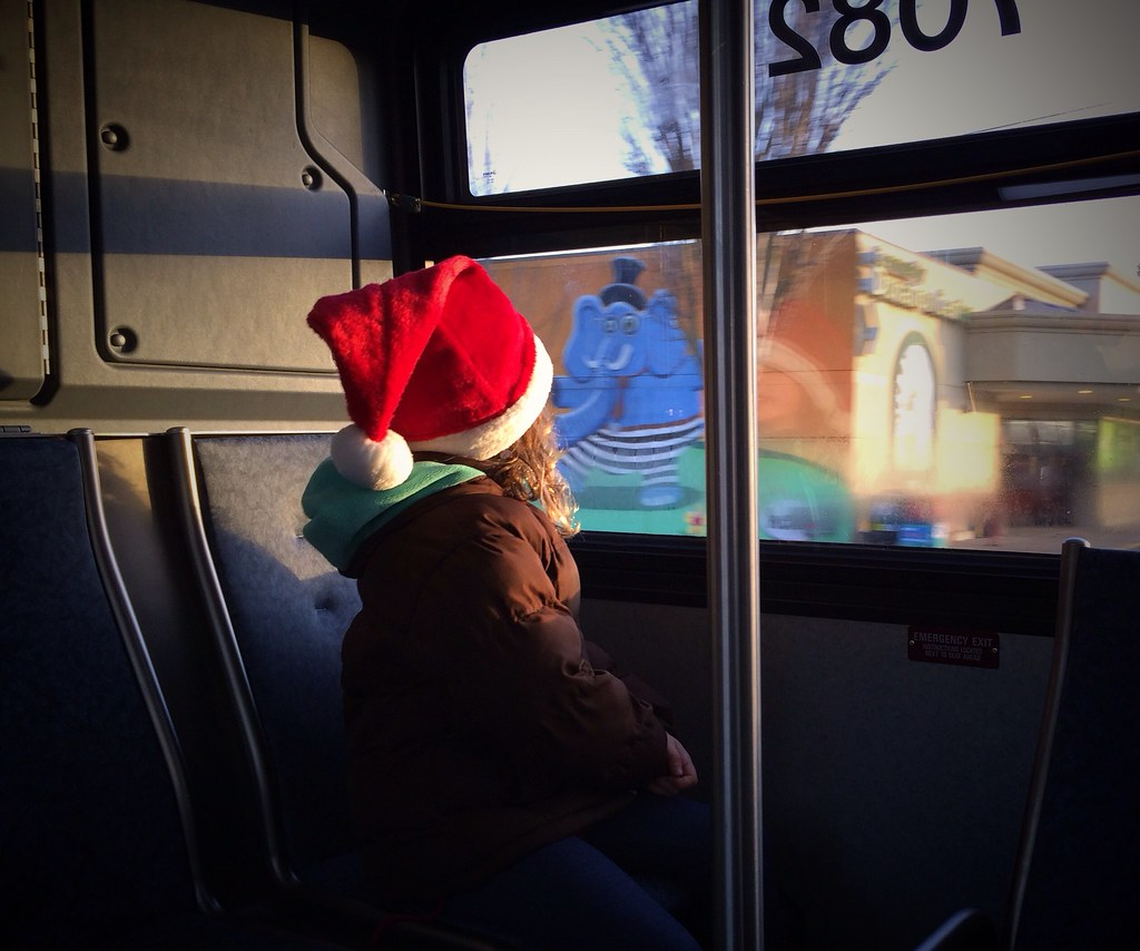 Miss Claus on the Bus