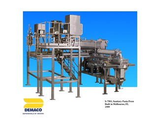 Sanitary Extruder for Frozen Foods Demaco