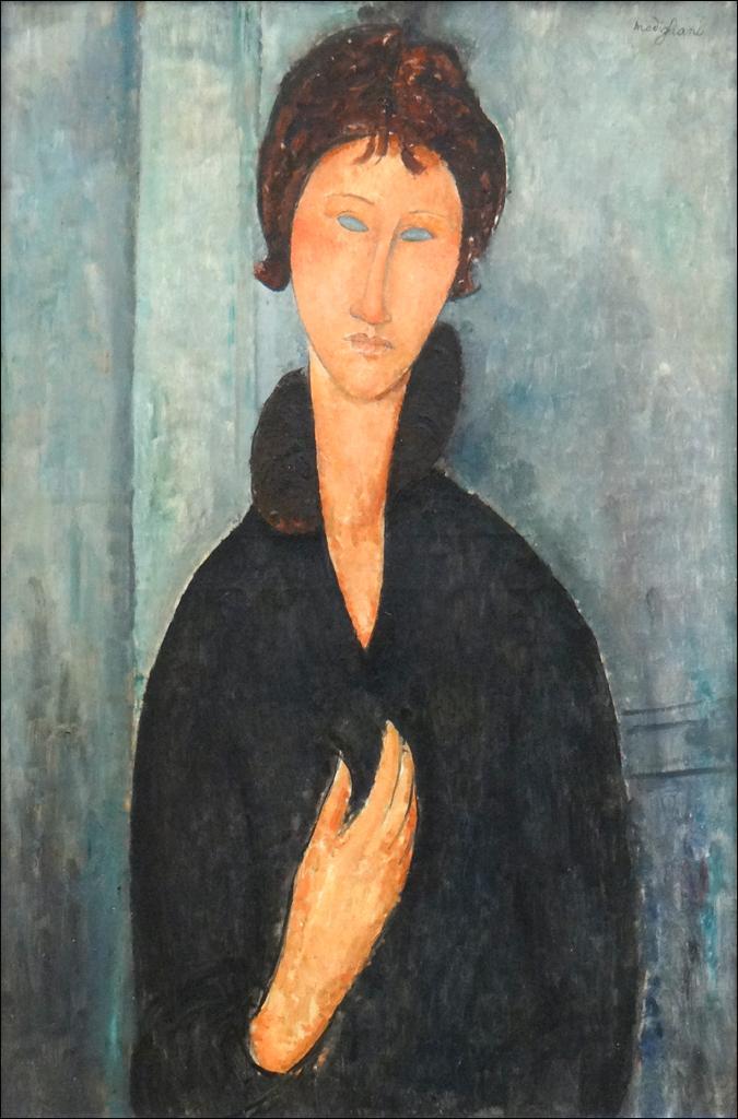 Femme aux yeux bleus (Musée d'art moderne de la ville de Paris)