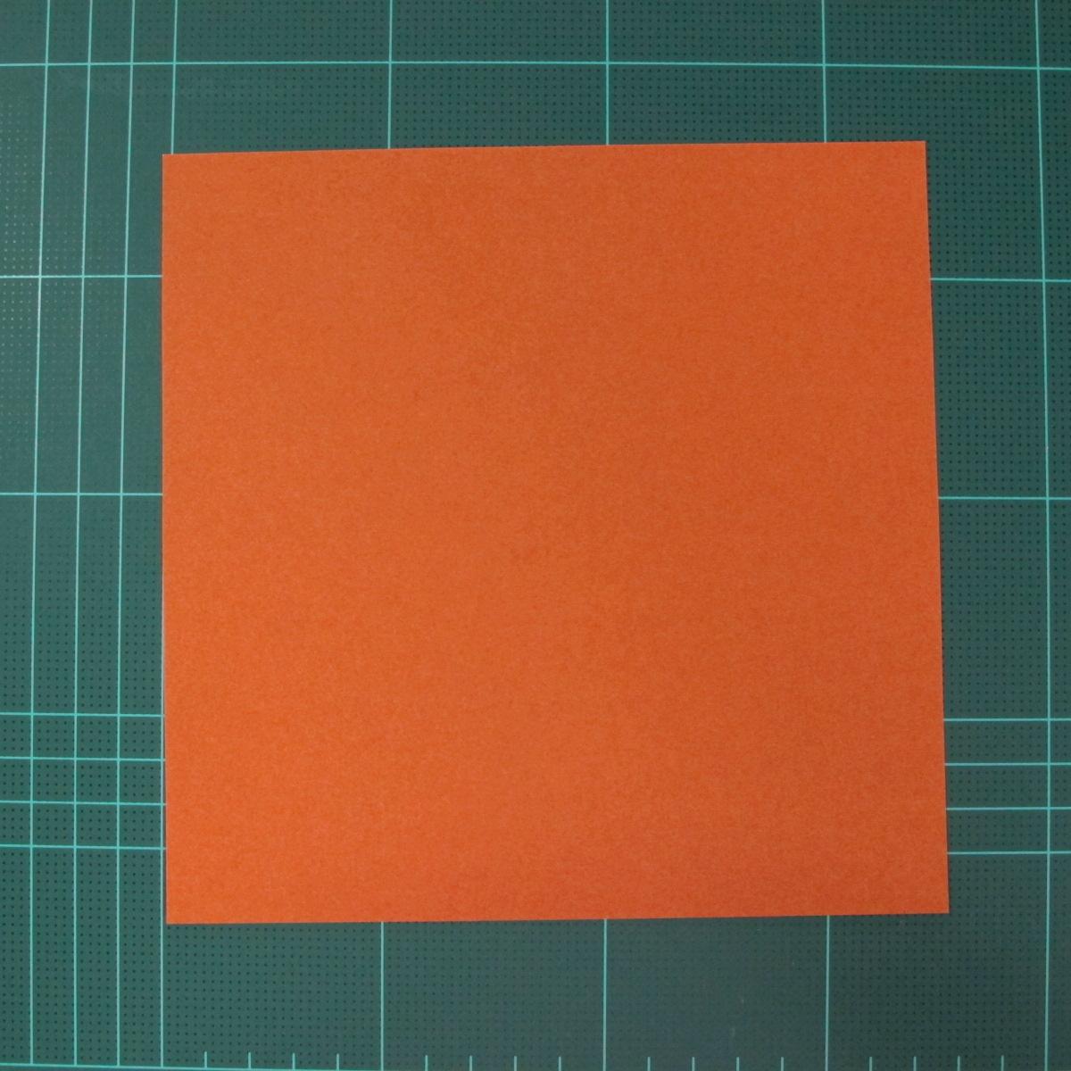 การพับกระดาษเป็นที่คั่นหนังสือหมีแว่น (Spectacled Bear Origami)  โดย Diego Quevedo 001