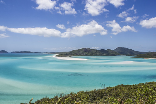 Whitehaven Beach at High Tide | by Marius L