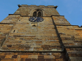 Church Tower on a clear cold January morning   by frankhodgson29