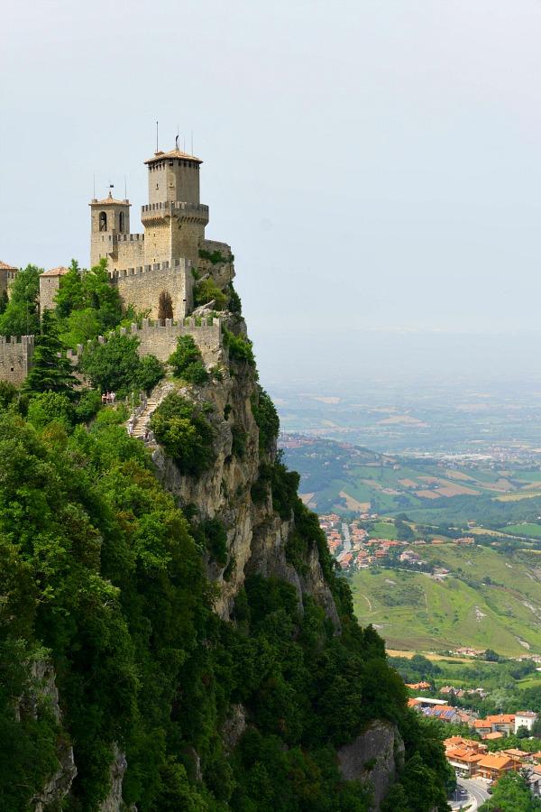 sanmarino, San Marino ItalySan Marino Fortress