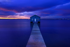The Little Blue Boatshed
