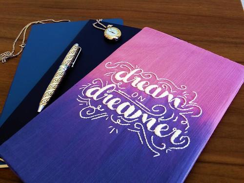 71 - Dream on Dreamer notebook 02