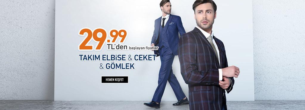 83ac97ed4892a ... Tozlu 29.99 TL'den Başlayan Fiyatlarla Erkek Giyim Ürünleri (Takım  Elbise & Gömlek &