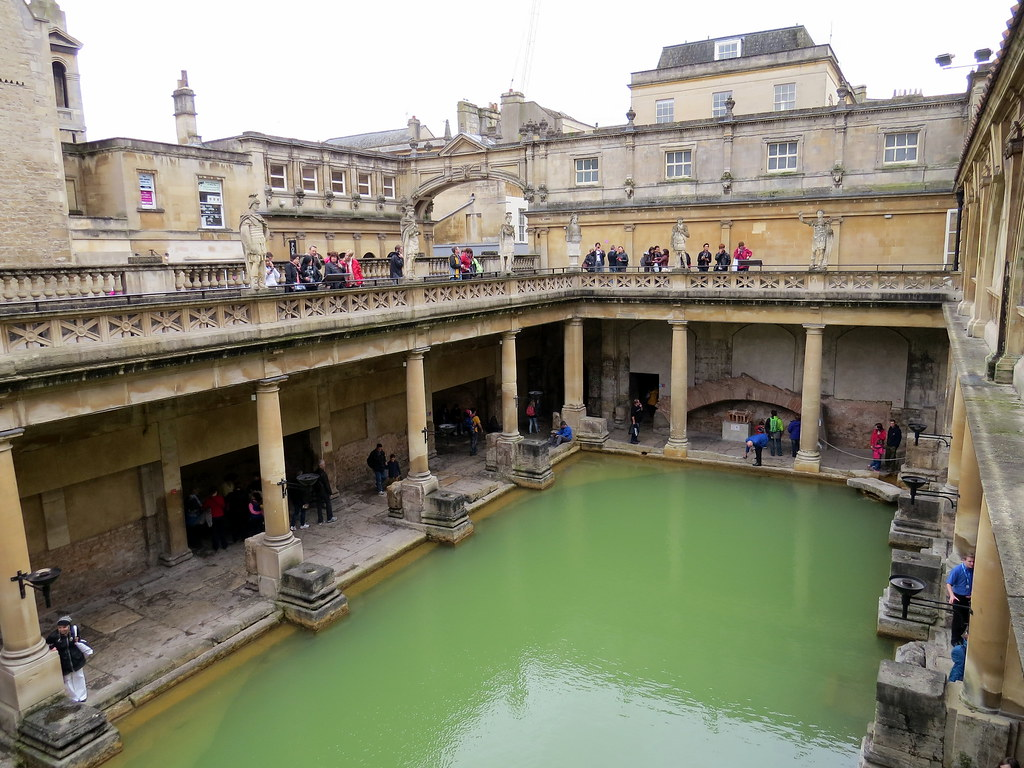 Roman Baths - Bath, Somerset, England, UK | Travel to Bath i… | Flickr
