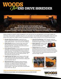 Woods End Drive Shredder | by WoodsEquipmentCompany