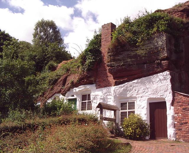 Rock house Kinver Edge Staffordshire