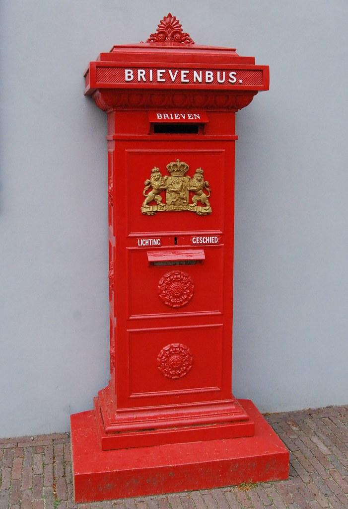 Verrassend Antieke brievenbus | Alwin Nöller | Flickr QG-19