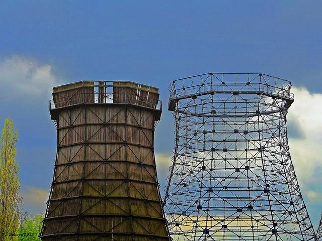 Welterbe Zollverein - KühlturmGerippe