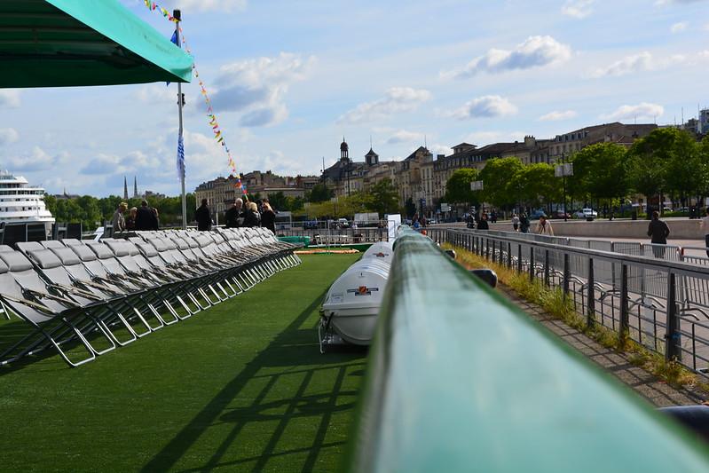 Pont soleil - A bord du MS CYRANO DE BERGERAC - Croisieurope - Bordeaux - 16 mai 2013