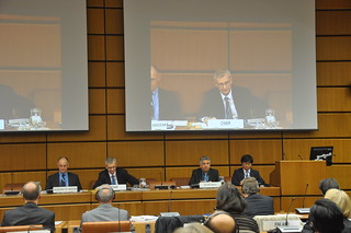 Opening of the 60th session of United Nations Scientific Committee on the Effects of Atomic Radiation in Vienna on 27 May 2013