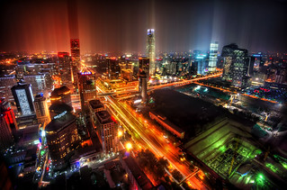 Downtown Beijing After Rain | by Trey Ratcliff