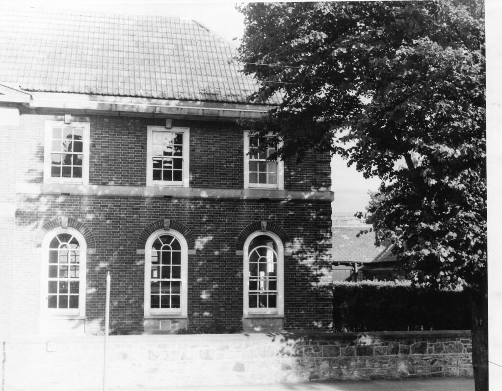 Pembroke Library in the sixties