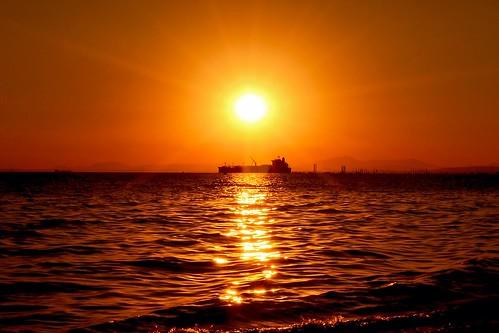 sun sunsets dörtyolsahil