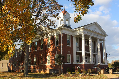 tn tennessee courthouse henderson 1914 chestercounty countycourthouse nrhp classicalrevival bmok tn100