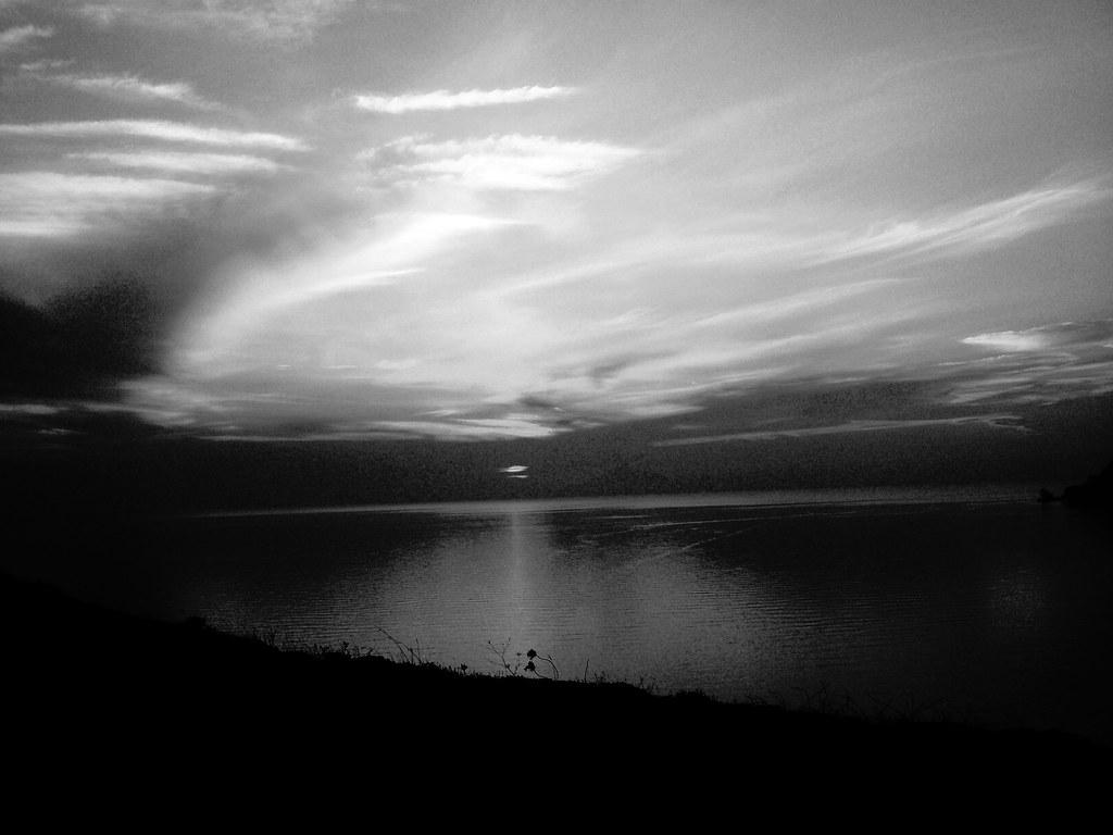 Dark Sea Cloudy Sky Camera Maria Tritaki Flickr