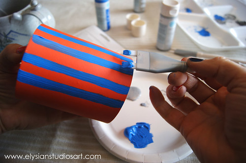 Using Martha Stewart Multi Tip Brush Set 2 | by elysianstudiosart