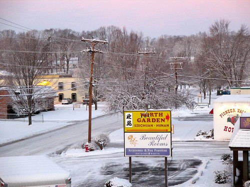 morning white snow sunrise massachusetts fluffy morningsnow westspringfield 650am ahobblingaday