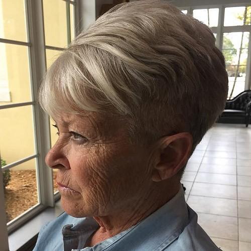 5 Older Womens Short Undercut Haircut Chris Kramer Flickr