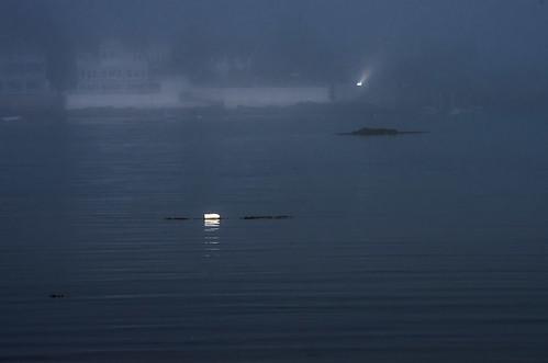 ocean summer fog maine atlantic coastal kennebunk buoyant