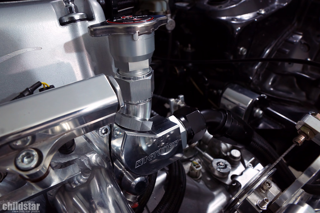 K-Tuned K20 upper coolant housing and filler neck   Kerry