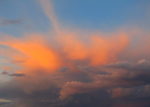 sky clouds colorado dusk alpenglow montrosecolorado