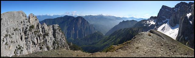 Greek Mountains Panorama