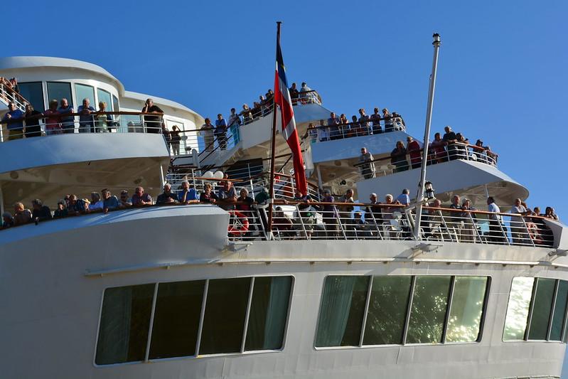 Arrivée du paquebot MS BRAEMAR - Bordeaux - 08 octobre 2013