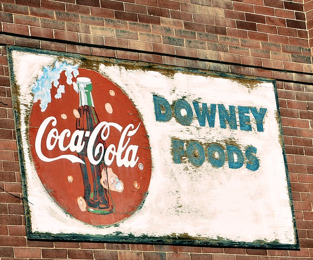 Old CocaCola Sign!