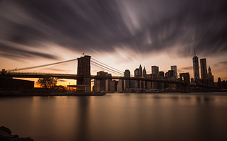 Brooklyn Bridge Drama | by johnsdigitaldreams.com