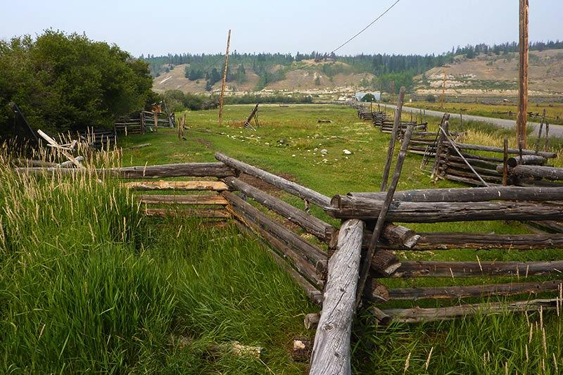 Farm in Tatla Lake, Highway 20, Chilcotin, British Columbia