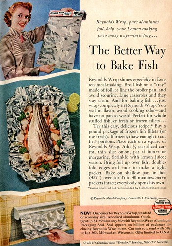 1956 Reynolds Wrap Advertisement Readers Digest March 1956 | by SenseiAlan