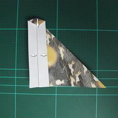 วิธีพับกระดาษเป็นรูปลูกสุนัข (แบบใช้กระดาษสองแผ่น) (Origami Dog) 029