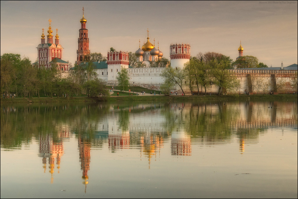 Moscow. Novodevichy convent.