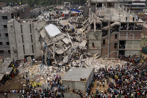 Dhaka Savar Building Collapse | by rijans