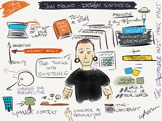 #sketchnotes from Jon Kolko @jkolko's workshop at #uxlx | by axbom