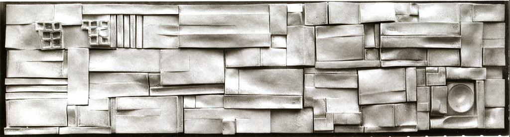 Carlo Zauli, le opere: ricerche geometriche