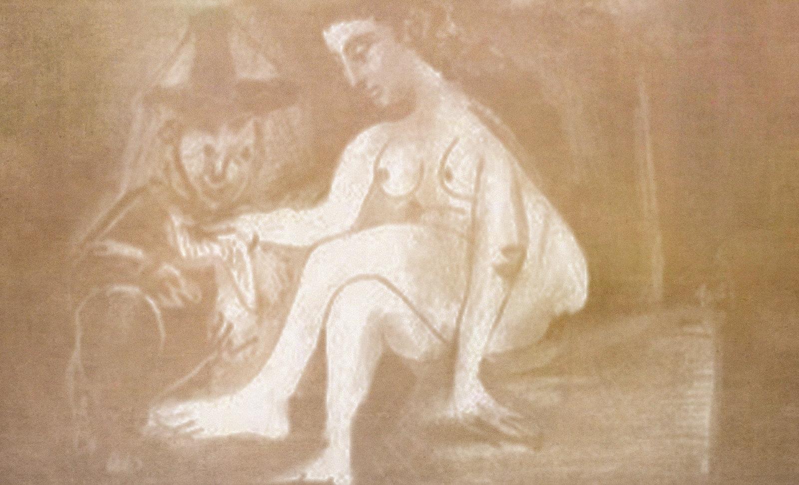 Baño de Betsabé, interpretación de Rembrandt Hamenzoon van Rijn (1654) recreaciones de Pablo Picasso (1963), (1966).