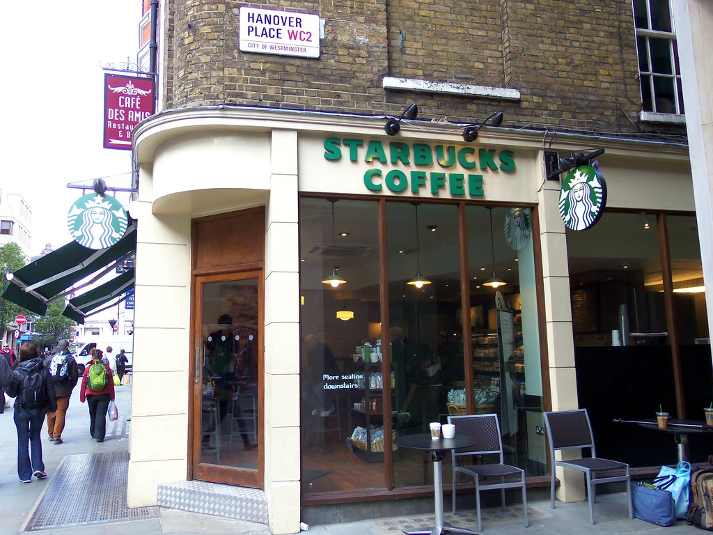 Starbucks Near Covent Garden London On Hanover Place Tere Sue